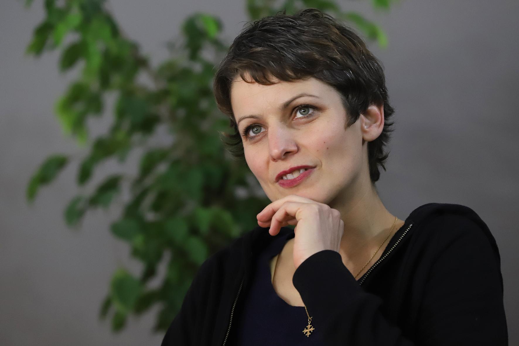 Sophie Divry, à la Foire du livre de Brive 2018.