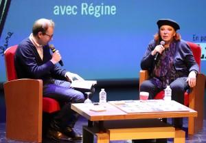 Gueule de nuit. Régine se raconte au Théâtre de Brive.